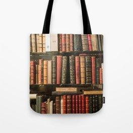 Vintage Books in Paris Tote Bag
