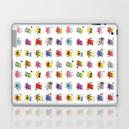 Bookiemoji Party Laptop & iPad Skin