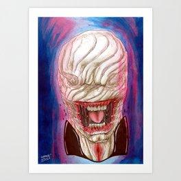 Chatterer Hell Raiser Horror Art Art Print