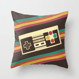 Retro Video Game 2 Throw Pillow
