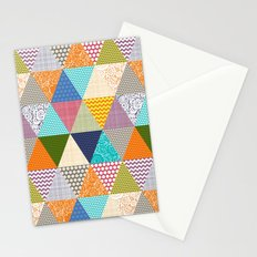 seaview beauty triangles Stationery Cards