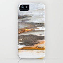 Yellowstone National Park - Thermophiles, Norris Geyser Basin iPhone Case