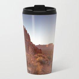 Setting Desert Sun Travel Mug