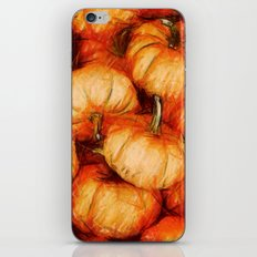 extreme orange iPhone & iPod Skin