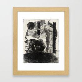 Khaled in an Environment Framed Art Print
