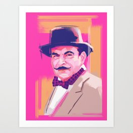 Hercule Poirot Art Print