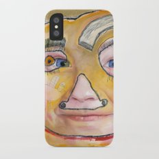 I feel loved iPhone X Slim Case