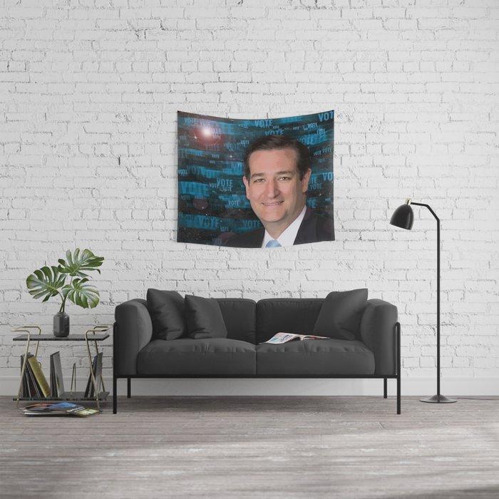 Vote Ted Cruz Wall Tapestry