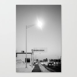 A Streetlight Canvas Print