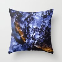 optimus prime Throw Pillows featuring Optimus Prime by HappyMelvin