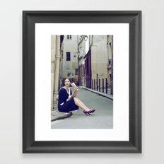 Paris Vintage 4 Framed Art Print