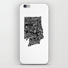 Typographic Washington iPhone & iPod Skin