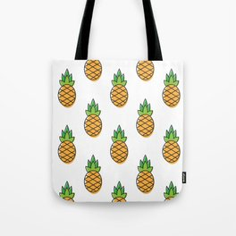All over pineapple Tote Bag