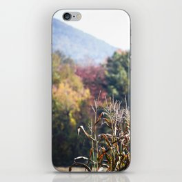 Autumn's End of Harvest iPhone Skin