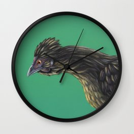 First Born of Silkie Wall Clock