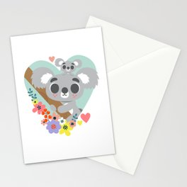Koala Bear Love / Cute Animal Stationery Cards