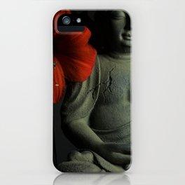 Amaryllis Buddha iPhone Case