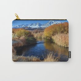 Owens River And Eastern Sierra Nevada Mountains Carry-All Pouch