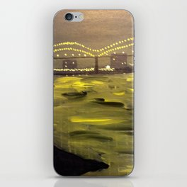 Memphis Skyline at Night iPhone Skin