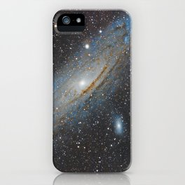 Andromeda Galaxy. iPhone Case
