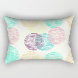 Cosy Circles || 2 Rectangular Pillow