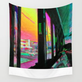 Acid bus trip Wall Tapestry