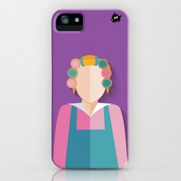 Dona Florinda iPhone Case