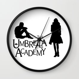 Klaus and Ben Hargreeves Umbrella Academy Wall Clock