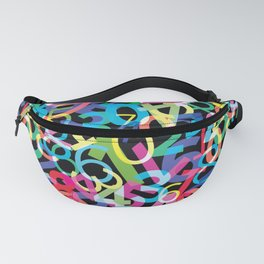 Numbers Fanny Pack