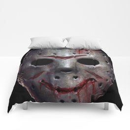 Happy Friday Mask Comforters