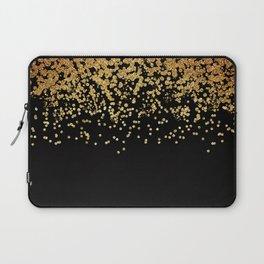 Gold Rain Laptop Sleeve