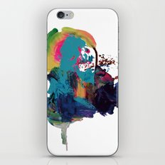 Digital painting collage series #1 iPhone & iPod Skin