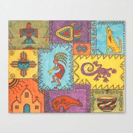 Southwest Sampler Canvas Print