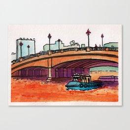 Jones Bridge Canvas Print