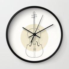 Cello II Wall Clock