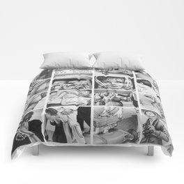 before the big, deep, dark sleep Comforters