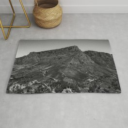 Table Mountain Panorama (Cape Town, South Africa) Rug