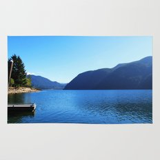 Landscape photo, Olympic National Park in Seattle Rug