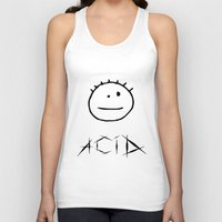 acid Tank Tops featuring Acid by Komrod