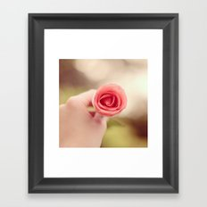 Sweet Rose Framed Art Print