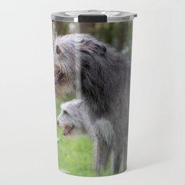 Wolfhounds big meek gray giants Travel Mug