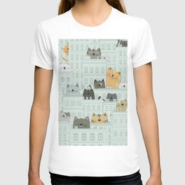 Cats and the city T-shirt