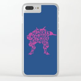 Dva type illustration Clear iPhone Case