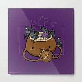 Food Series - Chowder Bread Bowl Metal Print