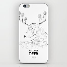 Abstract Deer iPhone Skin