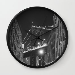 Dumbo Brooklyn Wall Clock