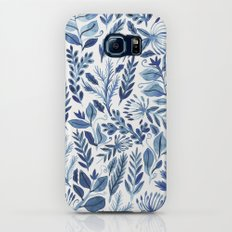 indigo scatter Slim Case Galaxy S7
