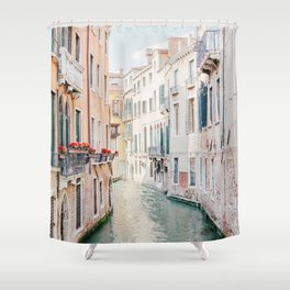 Venice Morning - Italy Travel Photography Shower Curtain