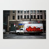 truck Canvas Prints featuring Truck by ArpanDholi