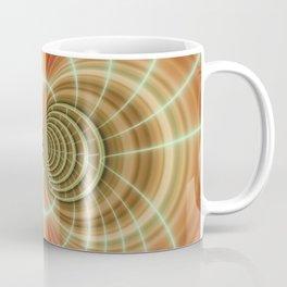 Fractal orange Coffee Mug